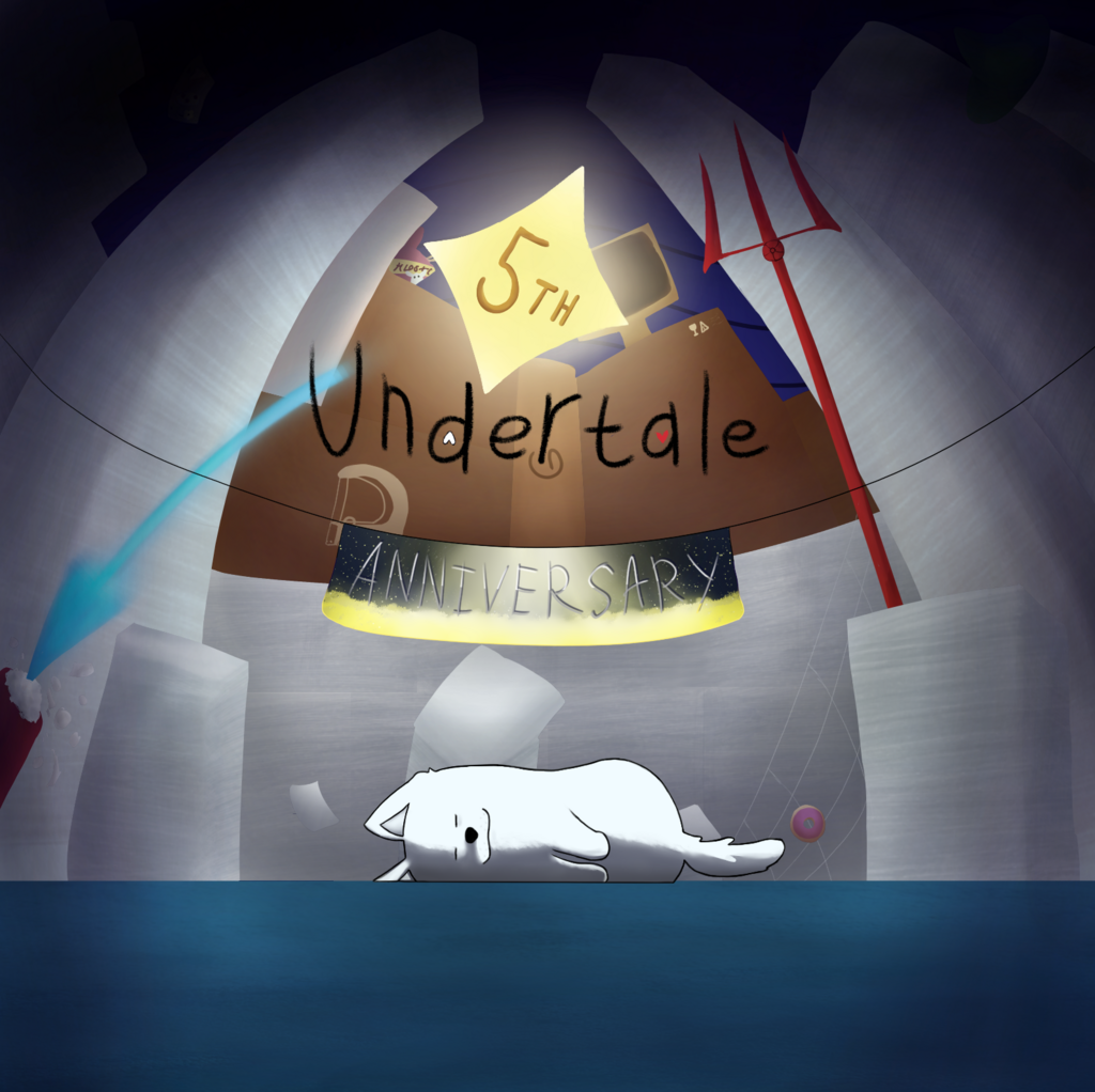 Most recent image: 5th Anniversary Undertale! С 5ти летием Андертейл!