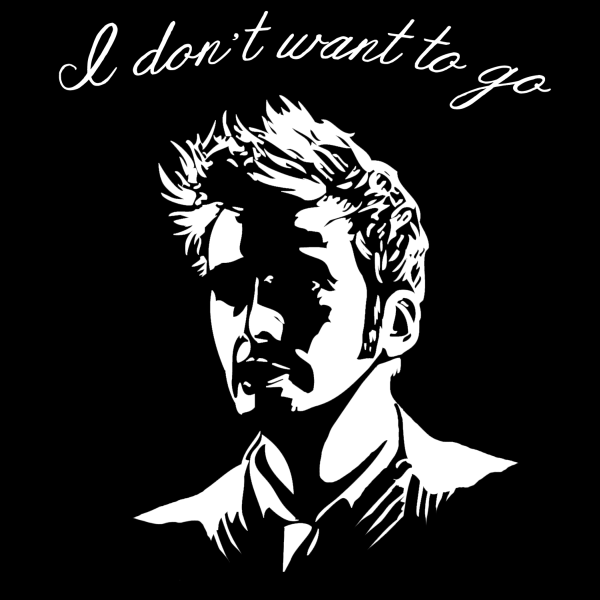 I don't want to go - Doctor Who shirt design
