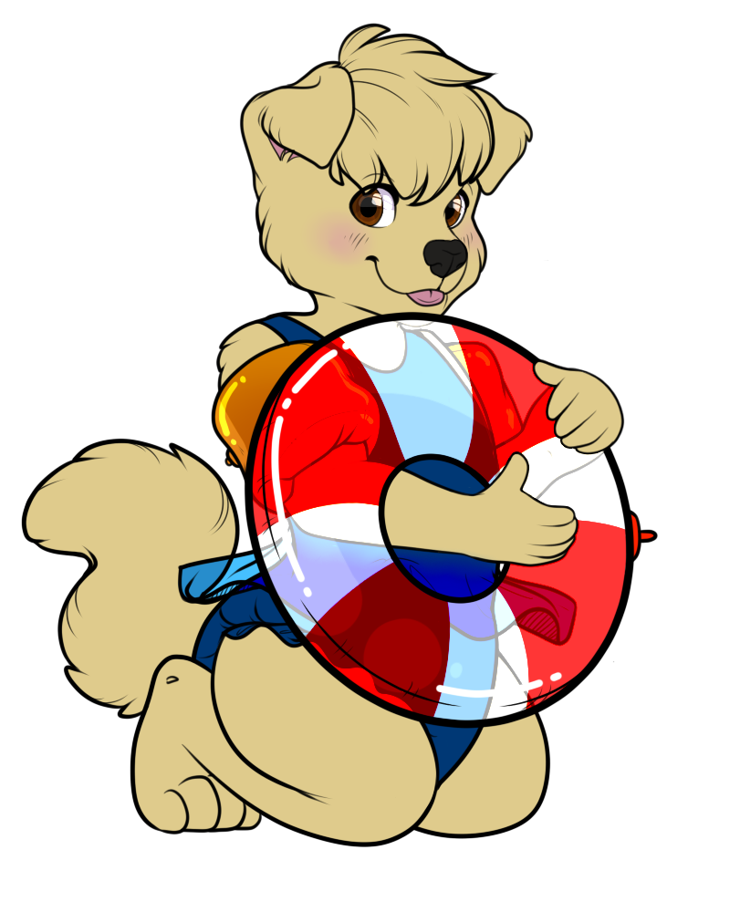 (Target-Dog) Ready for summer!