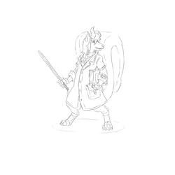 Archiver Minjun (WIP)(Wayfarer RPG)