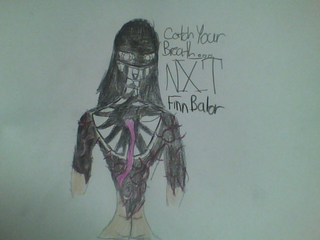 Zoey Cosplay: NXT Finn Balor Warpaint