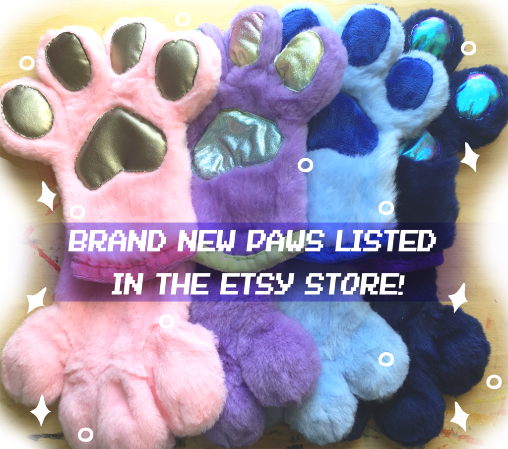 New Handpaws For Sale!