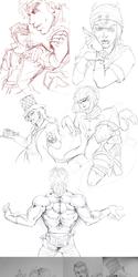 Jojo sketch dump