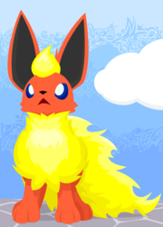 Unremarkable Flareon