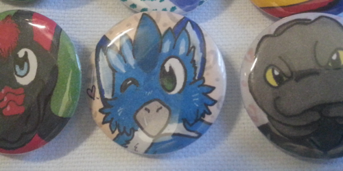 Furry buttons