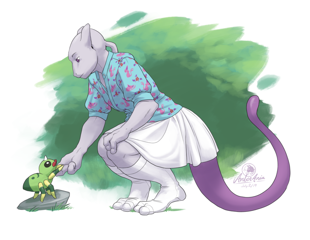 Most recent image: Mewtwo's Friend