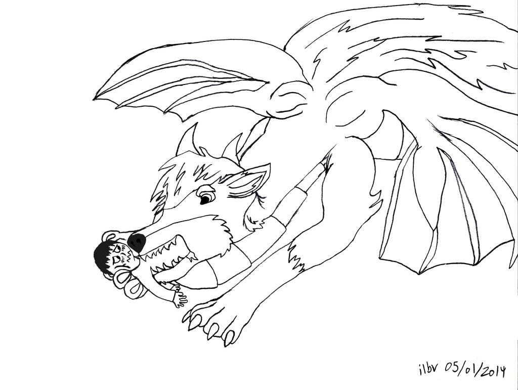 Dragon Jett Scarffed