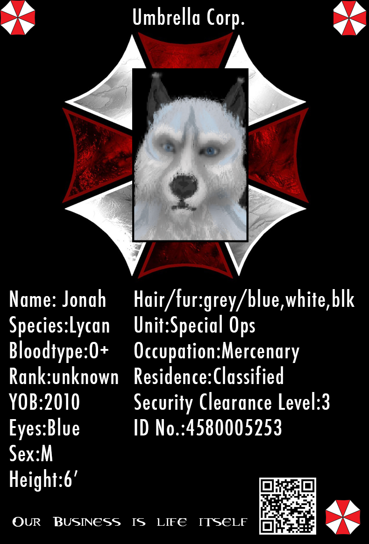 Umbrella Corporation Badge - Jonah