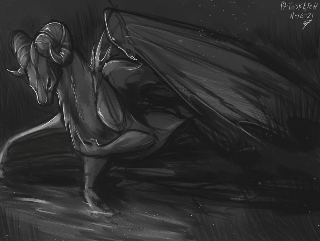 Another Dragon Speedpaint
