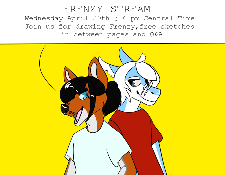 Frenzy Stream Announcement