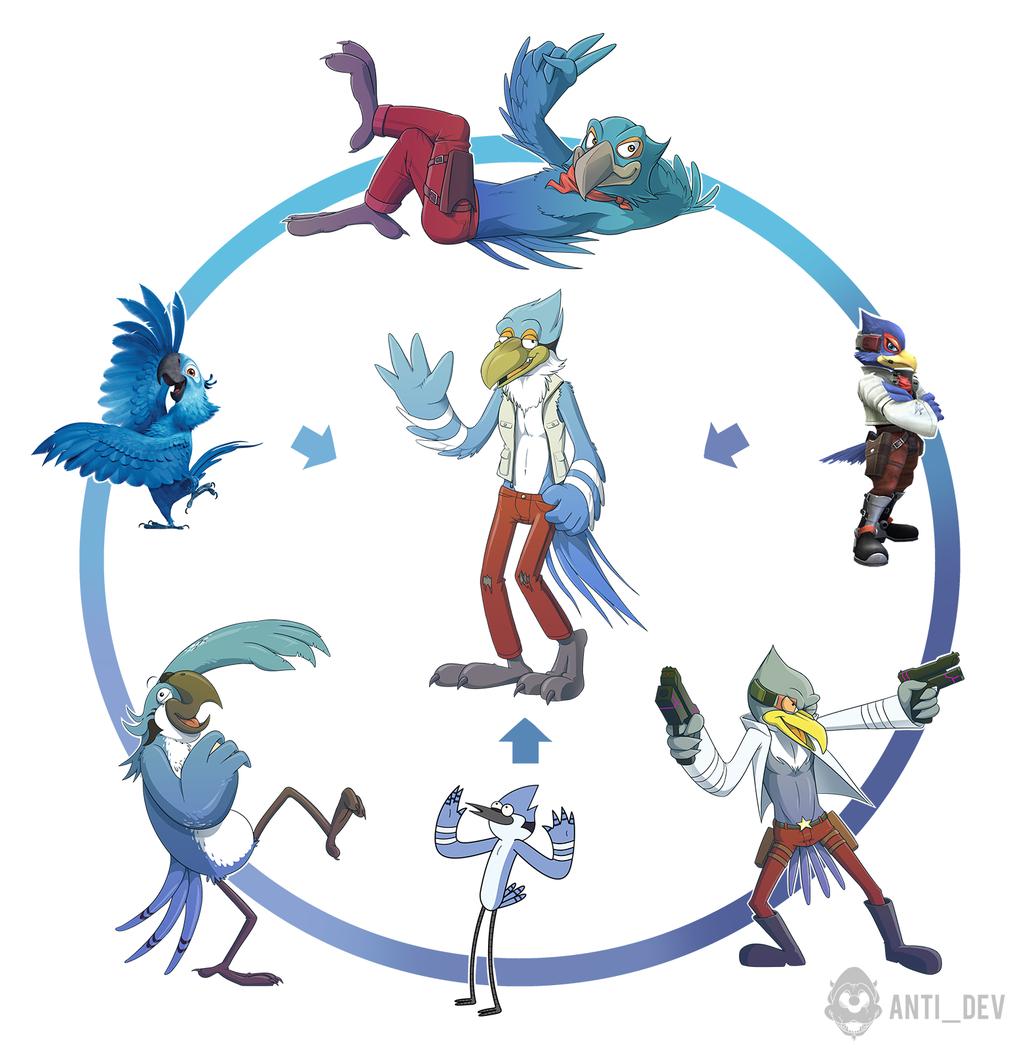 Blue Bird Hexafusion