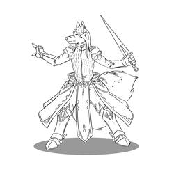 Vixaen Fighter W/ Fancy Sash