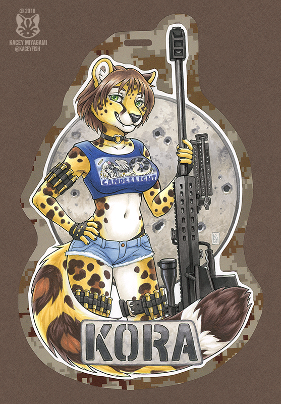 Kora Badge