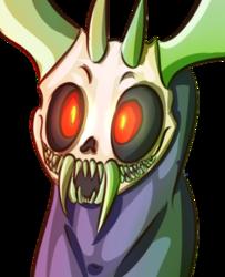 skull demon doodle