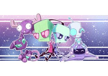 Zim, Fai and Their Robots