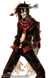 Art Trade: Mad the Zombie