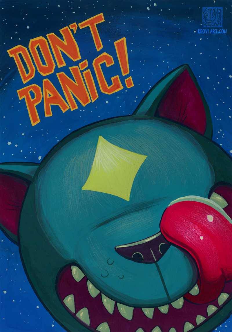Featured image: Don't Panic