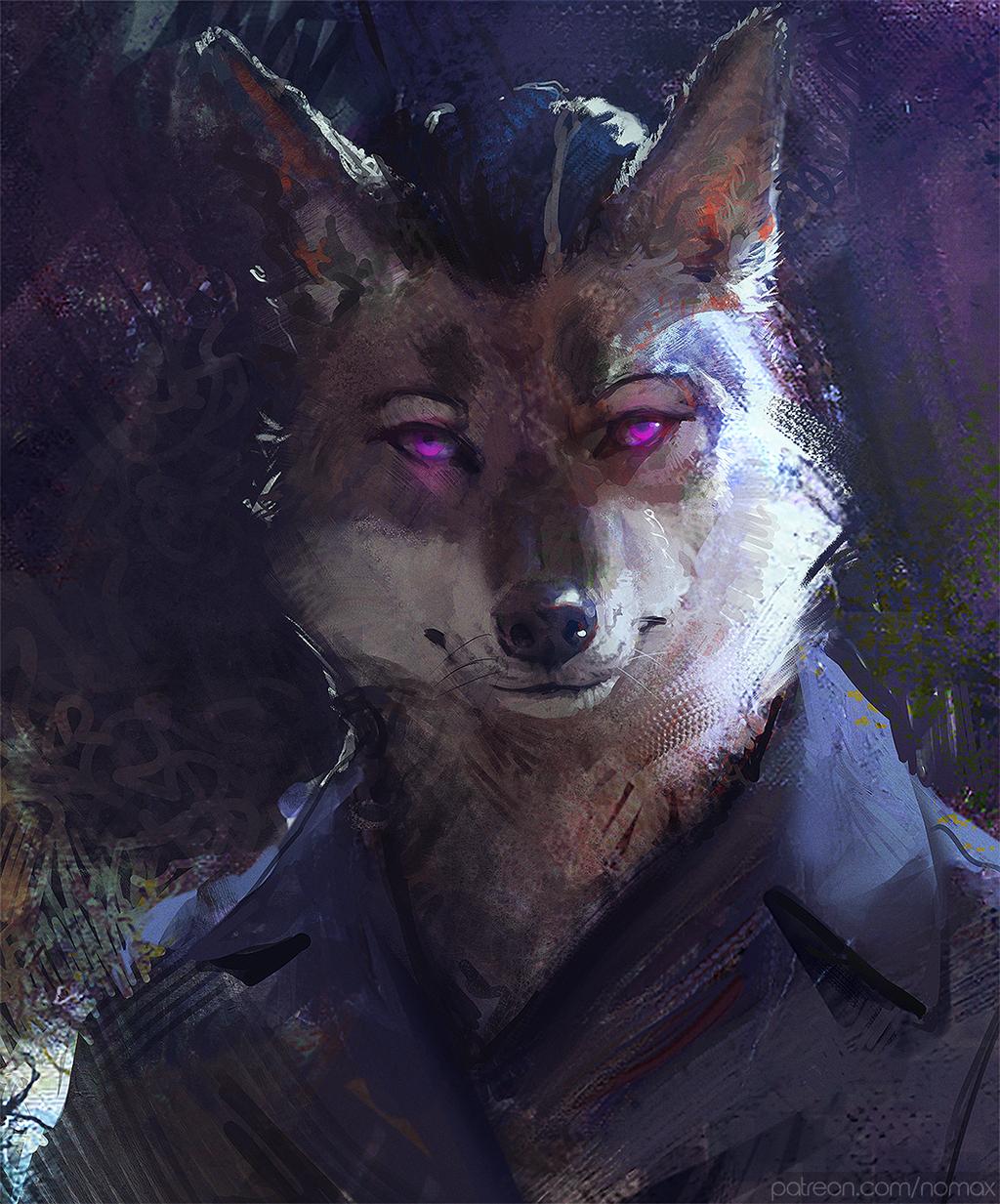 Shadowthecoyote portrait