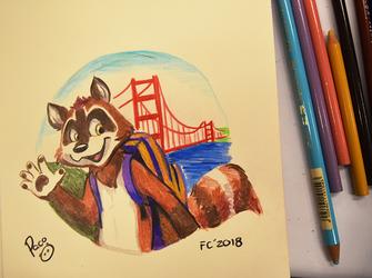 Denza visits San Francisco