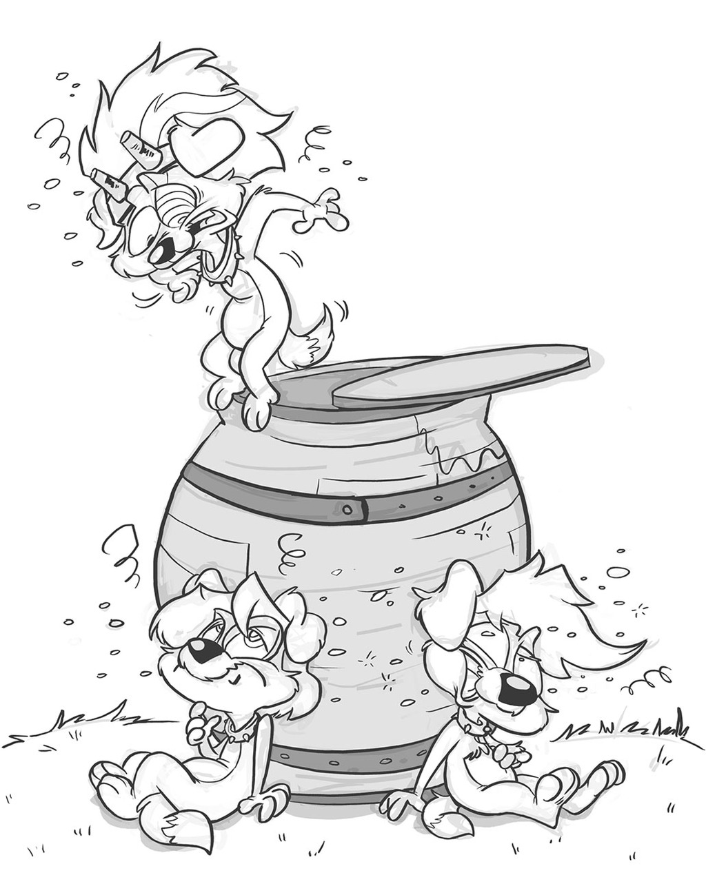 King of the Cider Barrel