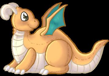Plush Dragonite