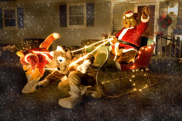 Santa Bear's Ride
