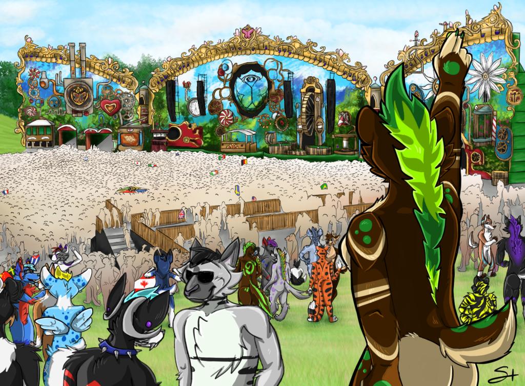 Jade at Tomorrowland 2014