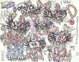 Likan, old version-doodles