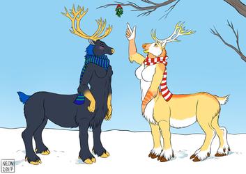 [Commission] Reindeer taurs