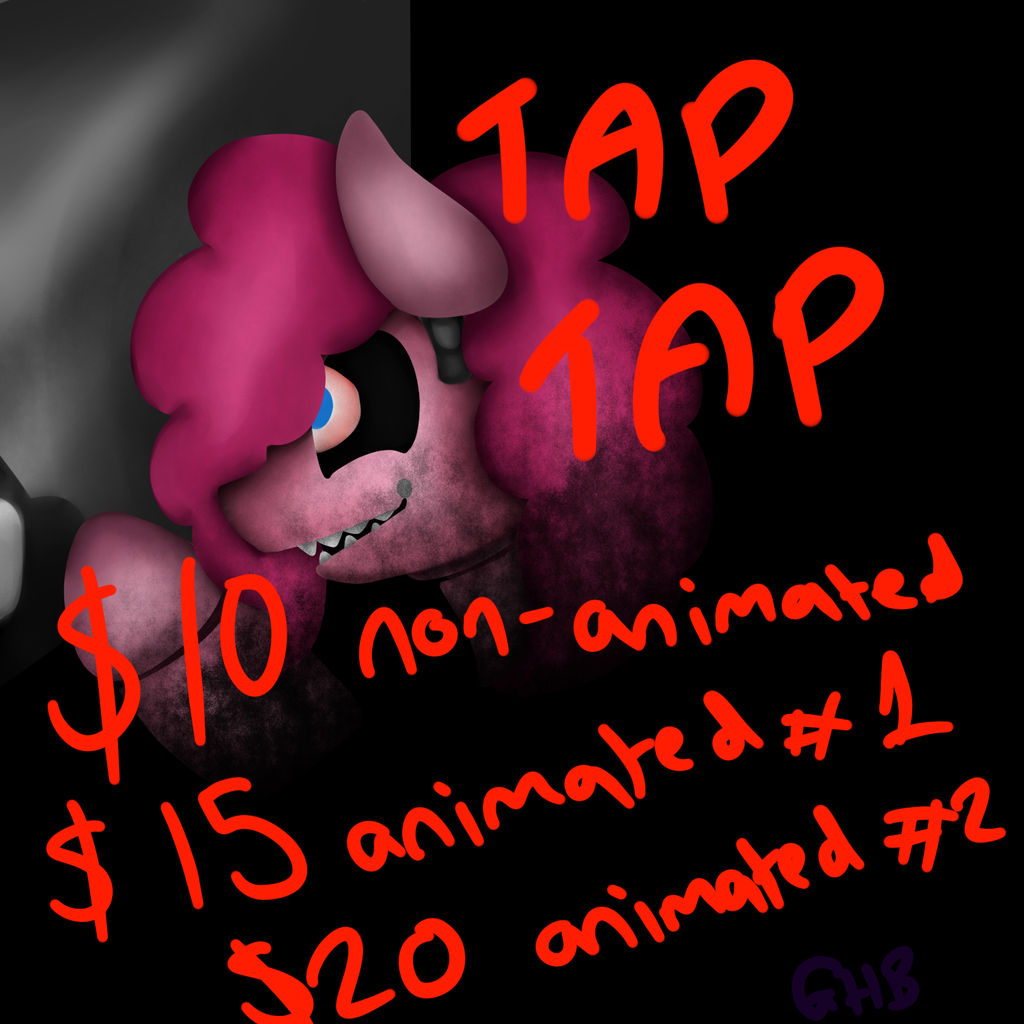 Most recent image: Tap tap commissions!