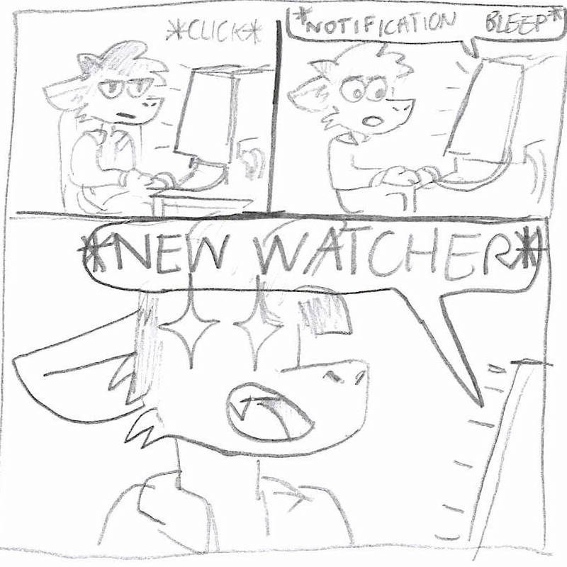 New Watcher! - Comic