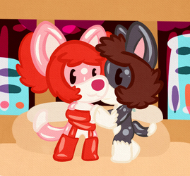 A Rouge and a CosminCatLady are together!