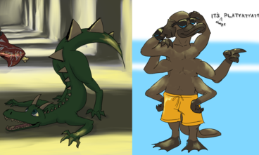 Platyatyatypus with a side of durgons