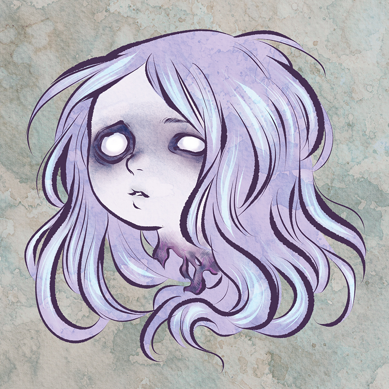 Pastel Horror Head