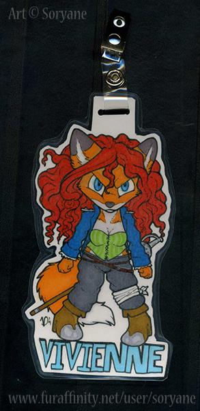 Vivienne - Chibi Badge