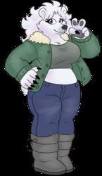 Greta the Polar Bear