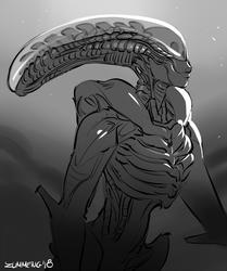 Androgynous Alien