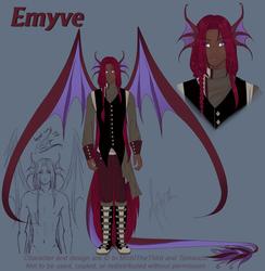 Emyve Ref Sheet {PA}