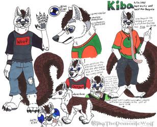 Kiba WolfPangolin Reference Sheet