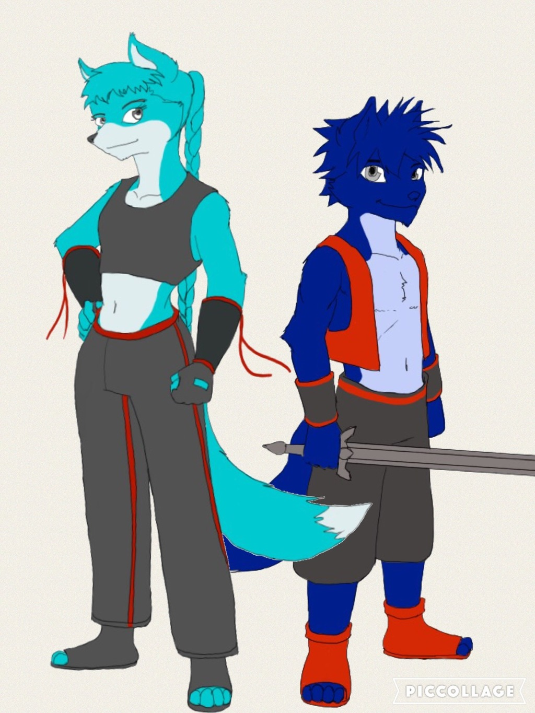 Most recent image: Asuna and Yukimaru