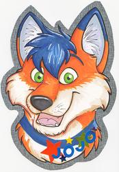JoJo Deluxe Badge - by Sarakazi