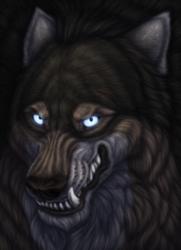 Grinning Werewolf by ShayarosEis