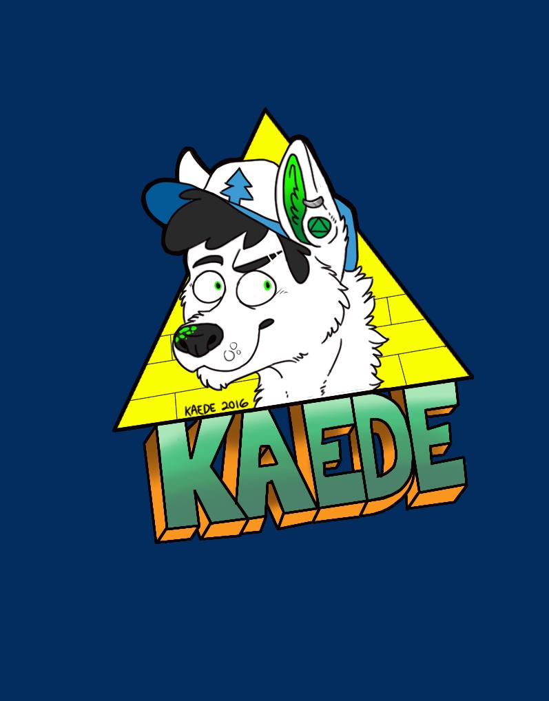 Gravity Falls Kaede Badge