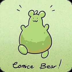 Huevember 28: Comice Bear