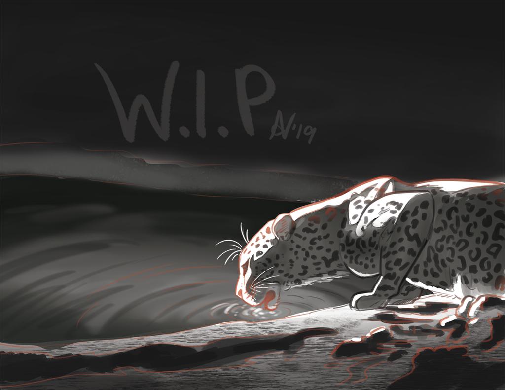 Leopard quick sketch