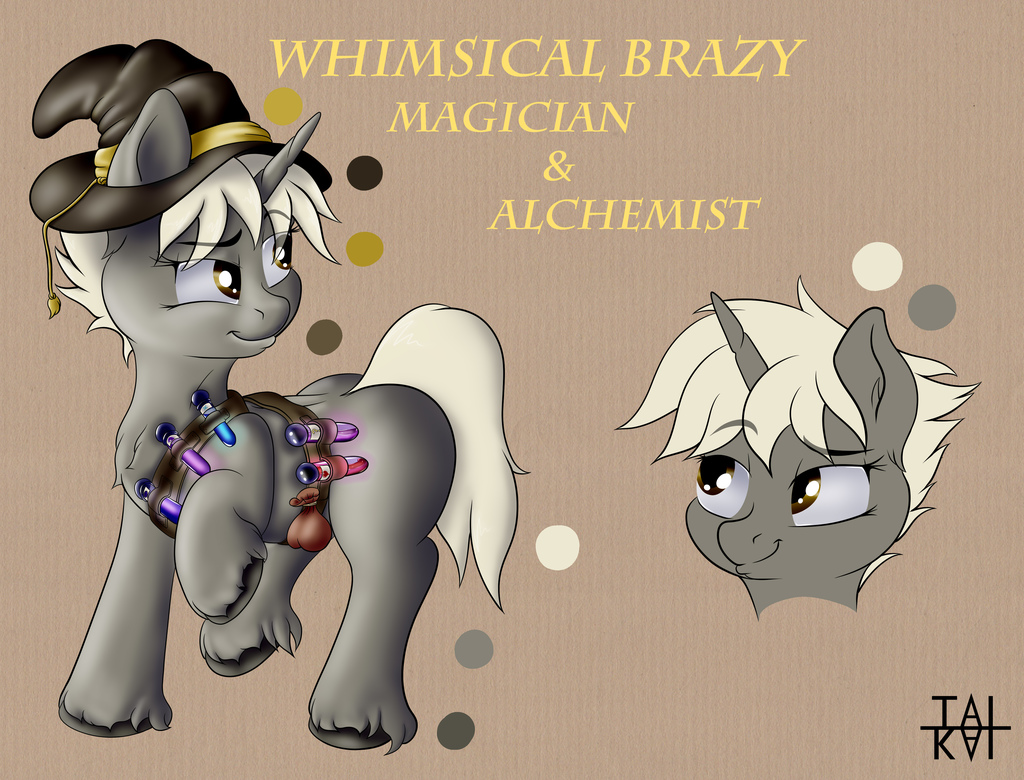 Whimsical Brazy Reference Sheet
