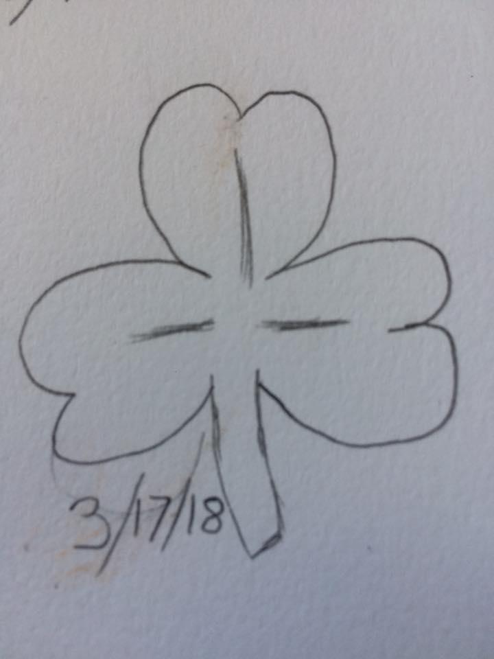 Most recent image: 3 leaf clover