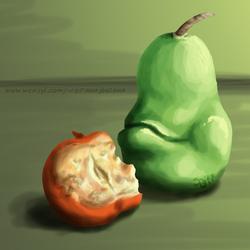 Biting Pear Of Salamanca