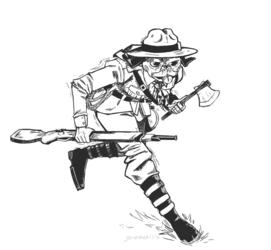 Commission  - Ranger Pugsly