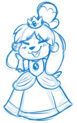 Doodle: Isabelle Dress-Up!